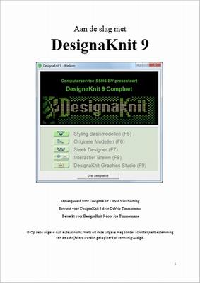 Aan de slag met DesignaKnit 9